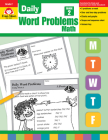 Daily Word Problems Grade 2 Cover Image