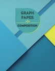 Graph Paper Composition Notebook: Large Simple Graph Paper Journal - 100 Quad Ruled 5x5 Pages 8.5 x 11 inches - Grid Paper Notebook for Math and Scien Cover Image