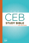 The Ceb Study Bible with Apocrypha Hardcover Cover Image