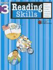 Reading Skills: Grade 3 (Flash Kids Harcourt Family Learning) Cover Image