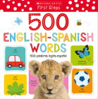 My First 500 Words / Mis primeras 500 palabras (Scholastic Early Learners) Cover Image