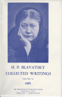 Collected Writings of H. P. Blavatsky, Vol. 11 Cover Image