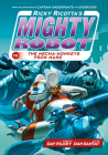 Ricky Ricotta's Mighty Robot vs. the Mecha-Monkeys from Mars (Ricky Ricotta's Mighty Robot #4) (Library Edition) Cover Image