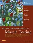 Daniels and Worthingham's Muscle Testing: Techniques of Manual Examination and Performance Testing Cover Image