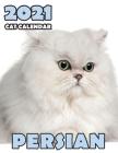 Persian 2021 Cat Calendar Cover Image