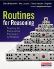 Routines for Reasoning: Fostering the Mathematical Practices in All Students Cover Image