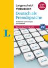 Langenscheidt Verbtabellen Deutsch: German Verb Tables: Verbformen Nachschlagen Und Trainieren Cover Image