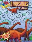 3-D Mazes--Dinosaurs (Dover 3-D Mazes) Cover Image