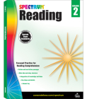 Spectrum Reading Workbook, Grade 2 Cover Image