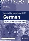 Edexcel International GCSE and Certificate German Grammar Workbook Cover Image