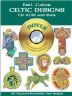 Full-Color Celtic Designs [With CDROM] (Dover Full-Color Electronic Design) Cover Image