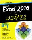 Excel 2016 All-In-One for Dummies Cover Image