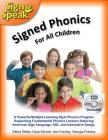 Signed Phonics with CD (Sign to Speak) Cover Image