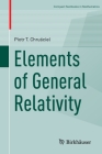 Elements of General Relativity (Compact Textbooks in Mathematics) Cover Image