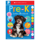 Pre-K Jumbo Workbook: Scholastic Early Learners (Jumbo Workbook)  Cover Image