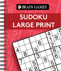 Brain Games - Sudoku Large Print (Red) Cover Image