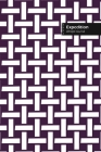 Expedition Lifestyle Journal, Wide Ruled Write-in Dotted Lines, (A5) 6 x 9 Inch, Notebook, 288 pages (Purple) Cover Image