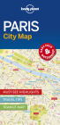Lonely Planet Paris City Map 1 Cover Image
