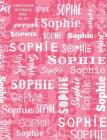 Sophie Composition Notebook Wide Ruled Cover Image