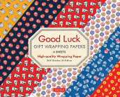 Good Luck Gift Wrapping Papers 6 Sheets: High-Quality 24 X 18 Inch (61 X 45 CM) Wrapping Paper Cover Image