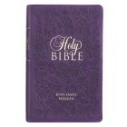 KJV Bible Giant Print Purple Cover Image