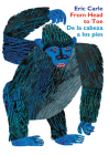From Head to Toe/De la cabeza a los pies Board Book: Bilingual Spanish/English Cover Image