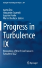 Progress in Turbulence IX: Proceedings of the Iti Conference in Turbulence 2021 (Springer Proceedings in Physics #267) Cover Image