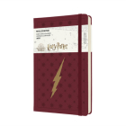 Moleskine 2022 Harry Potter Daily Planner, 12M, Large, Bordeaux Red, Hard Cover (5 x 8.25) Cover Image