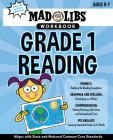 Mad Libs Workbook: Grade 1 Reading (Mad Libs Workbooks) Cover Image
