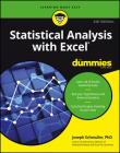 Statistical Analysis with Excel for Dummies Cover Image