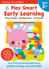 Play Smart Early Learning Age 3+: At-home Activity Workbook Cover Image