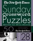 The New York Times Sunday Crossword Puzzles Vol. 28: 50 Sunday Puzzles from the Pages of The New York Times Cover Image