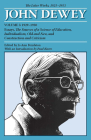 The Later Works of John Dewey, Volume 5, 1925 - 1953: 1929-1930, Essays, The Sources of a Science of Education, Individualism, Old and New, and Construction and Criticism (Collected Works of John Dewey #5) Cover Image
