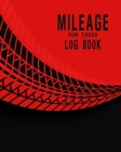 Mileage Log Book for Taxes: Gas Mileage Log Book For Taxes For Driving Car the art of motorcycle maintenance tracker expense ledger cover design w Cover Image
