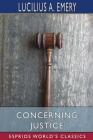 Concerning Justice (Esprios Classics) Cover Image