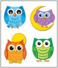 Colorful Owls Cover Image