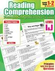 Reading Comprehension Passages and Questions: : Reading Comprehension Passages and Questions for Guided for 1st Grade Cover Image