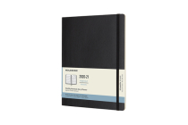 Moleskine 2020-21 Monthly Planner, 18M, Extra Large, Black, Soft Cover (7.5 x 9.75) Cover Image