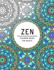 Zen Coloring Books For Adults: Coloring pages for adults Cover Image
