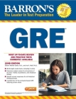 GRE with Online Tests (Barron's Test Prep) Cover Image