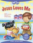 Jesus Loves Me Story + Activity Book (Faith That Sticks Books) Cover Image