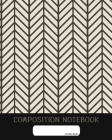 Composition Notebook: College Ruled - Black and White Geometry - Back to School Composition Book for Teachers, Students, Kids and Teens - 12 Cover Image