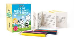 Peanuts: It's the Easter Beagle, Charlie Brown Coloring Kit (RP Minis) Cover Image