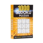 1000 Sudoku Puzzles: The Ultimate Sudoku Challenge Cover Image