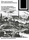 Über Die Umwelt Der Arbeitenden Klasse: Auswahl Von Günter Hillmann Cover Image