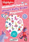 Unicorn Hidden Pictures Puffy Sticker Playscenes (Highlights Puffy Sticker Playscenes) Cover Image