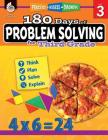 180 Days of Problem Solving for Third Grade: Practice, Assess, Diagnose (180 Days of Practice) Cover Image