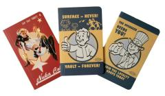 Fallout Pocket Notebook Collection (Set of 3) (Gaming) Cover Image