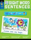 Cut & Paste Sight Words Sentences Cover Image