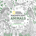 National Geographic Magnificent Animals: A Coloring Book Cover Image